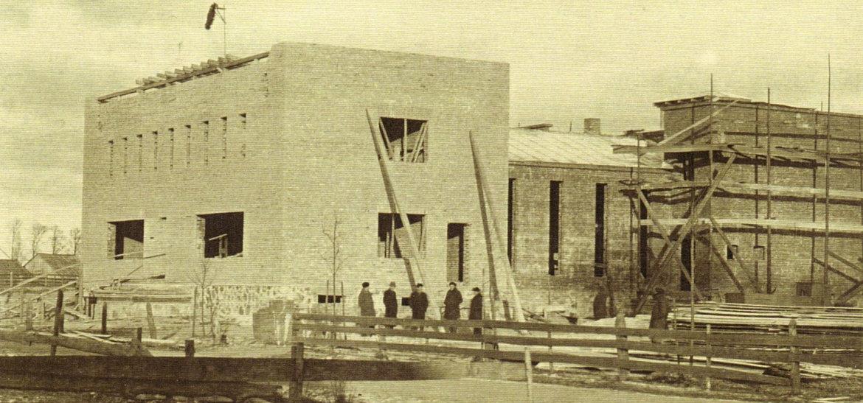 Строительство Народного дома ливов в 1939 году